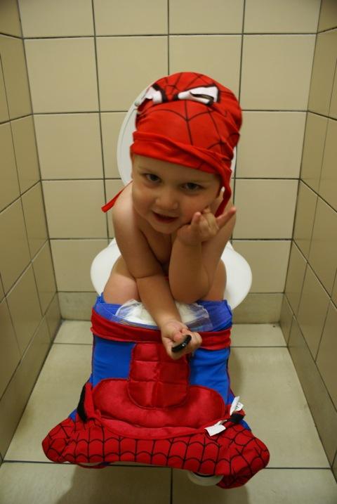 spider-man had to teach beyonder how to poop