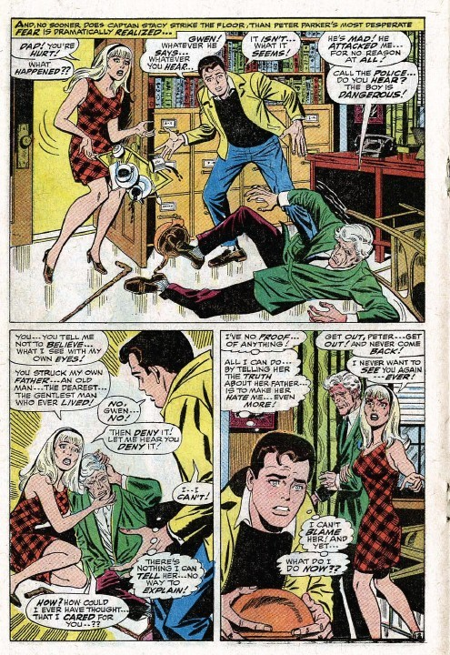 peter parker and gwen stacy relationship questions