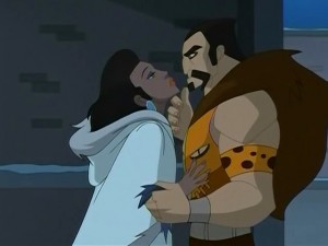 Kraven proves that there are few things in the world manlier than eyeliner and handlebar moustaches.