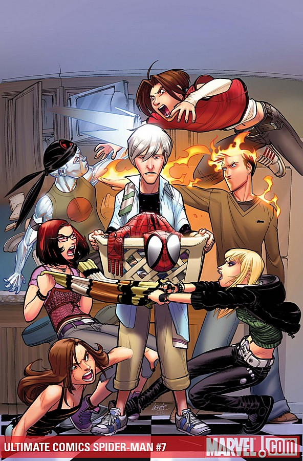 Ultimate spider man comic - photo#10