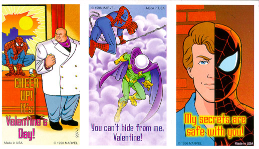 spider-man valentine day cards – spider man crawlspace, Ideas