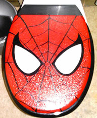 weird marvel collectibles 36 spider toilet seat cover