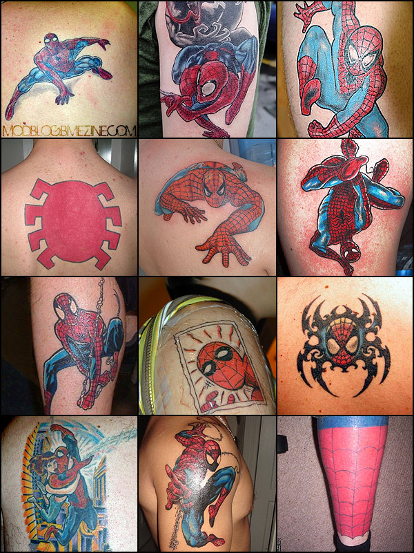 Spider Man Crawlspace » Weird Marvel Collectibles # 40- Spider Tats