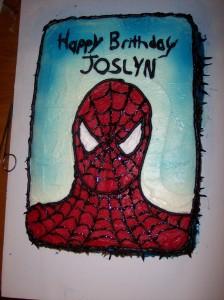 Rachel Bailey Cake Artist : Amazing & Spectacular Spider-Cake   Spider Man Crawlspace