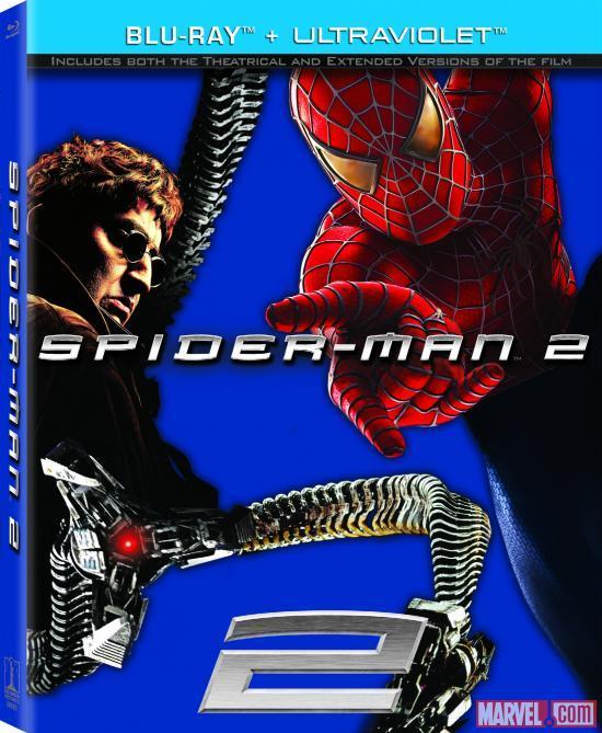 Spider-Man 2 (2004) BluRay 720p 900MB Dual Audio Hindi Eng