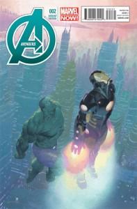 Avengers Vol 5 #2 Ribic variant