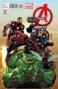 Avengers Vol 5 #2 Romita variant