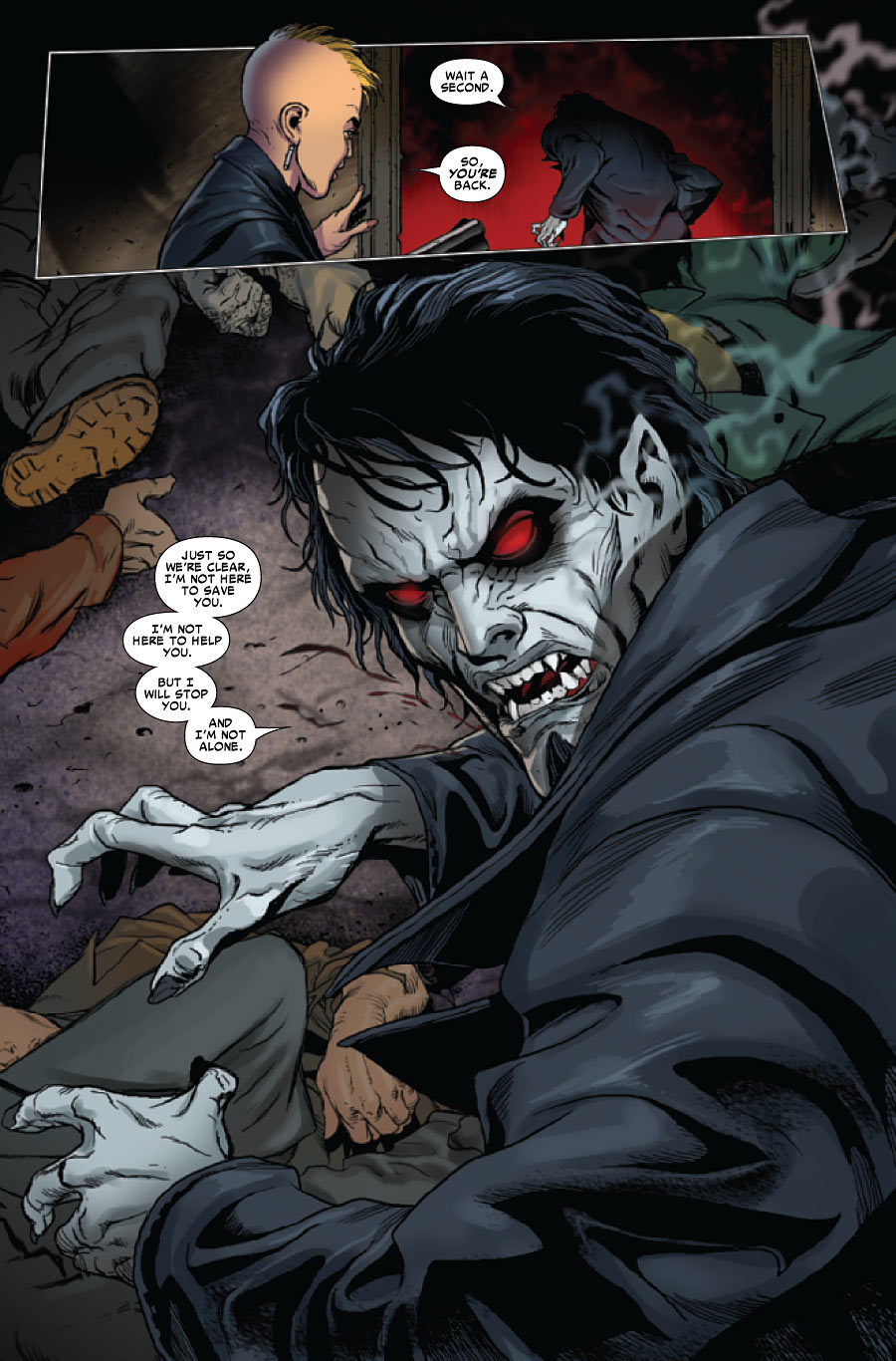 Morbius Vampire >> Morbius: The Living Vampire #5 review – Spider Man Crawlspace