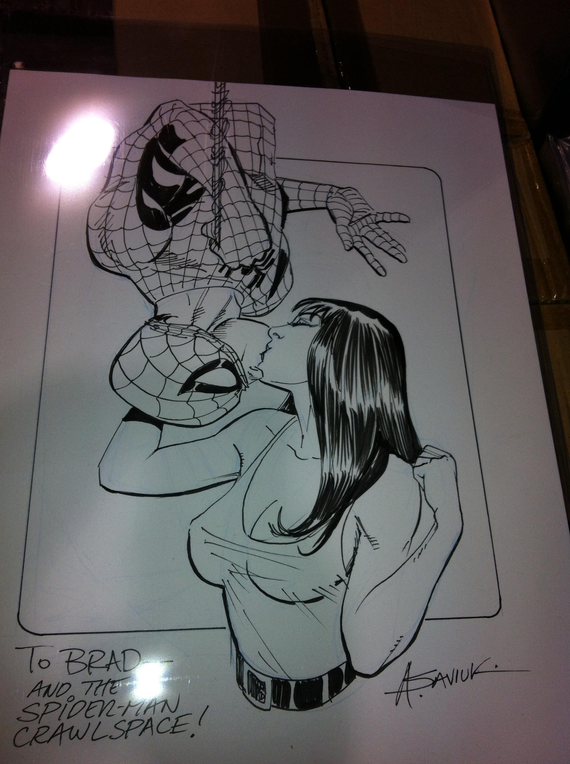 Wizard Chicago Comic Con Day 2 Pics – Spider Man Crawlspace