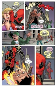 What you're getting from Deadpool