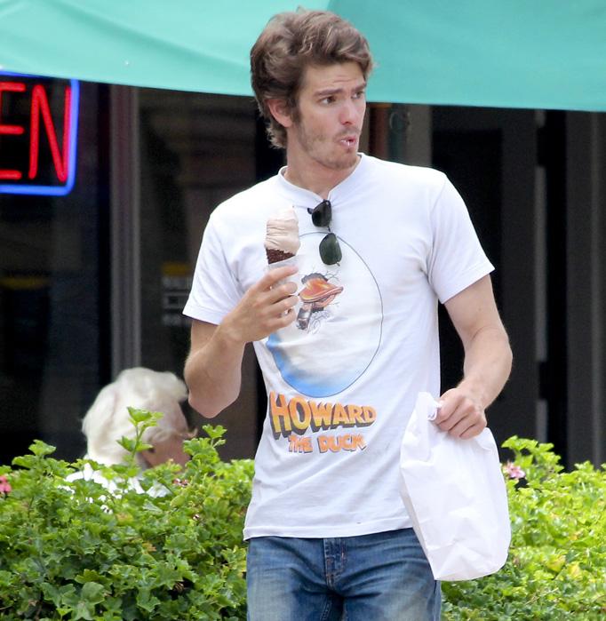 Andrew Garfield: Ice Cream Delight!