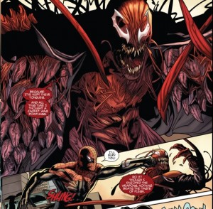 Carnage got your tongue