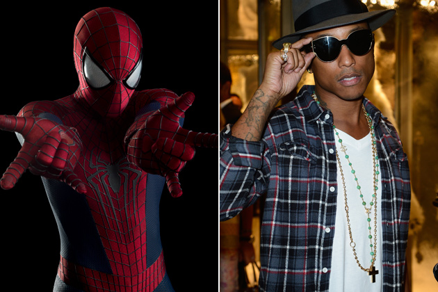 amazing-spider-man-2-pharrell