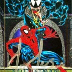 MARVELMASTERPIECES1992SPIDERMANVSVENOMCARD4DAUTO