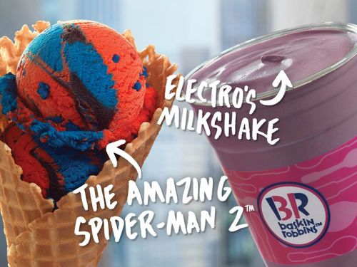 Spiderman-Ice-Cream-Baskin-Robbins