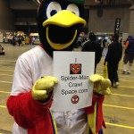 Fred Bird loves Spiders.