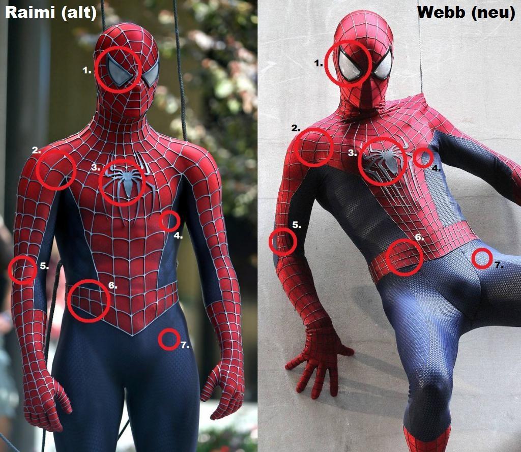 Amazoncom adult mens spiderman costume