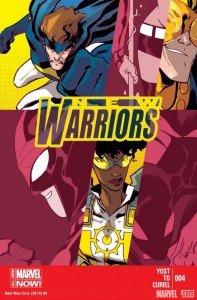 New Warriors #4 Cover