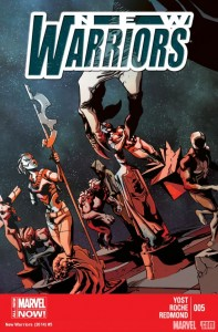New Warriors #5 Cover