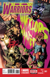 New Warriors #7 Cover