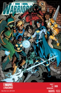 New Warriors #8 Cover