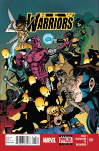 New Warriors 11 Cover