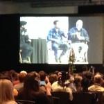 Jon Bernthal and Scott Wilson from The Walking Dead