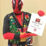 Christmas sweater Deadpool