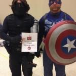 Bucky and Cap