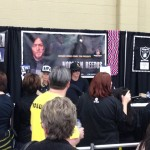 The line for Norman Reedus was incredible.
