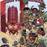 Secret Wars: Battleworld #1 James Stokoe Cover