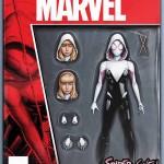 Spider-Gwen (2015) #1 Action Figure Variant
