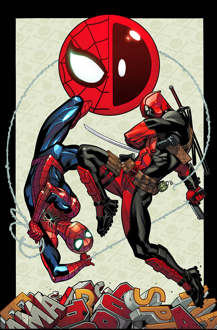 Spider-ManDeadpool#1--Cover