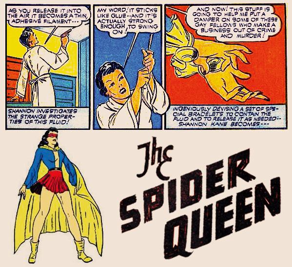 Spider Queen Webbing