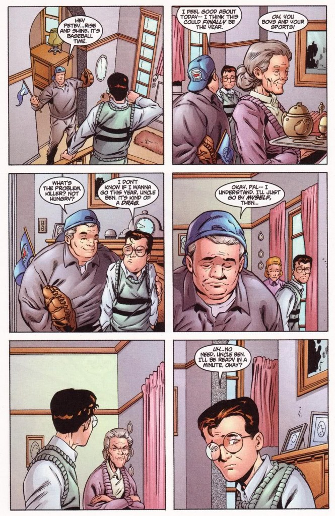 Given my last name, how can I resist a story that establishes Peter Parker as a Mets fan?