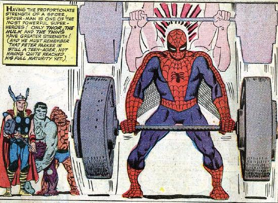 strong spider-man