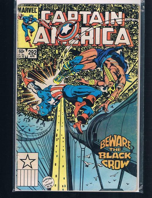 Captain America 292