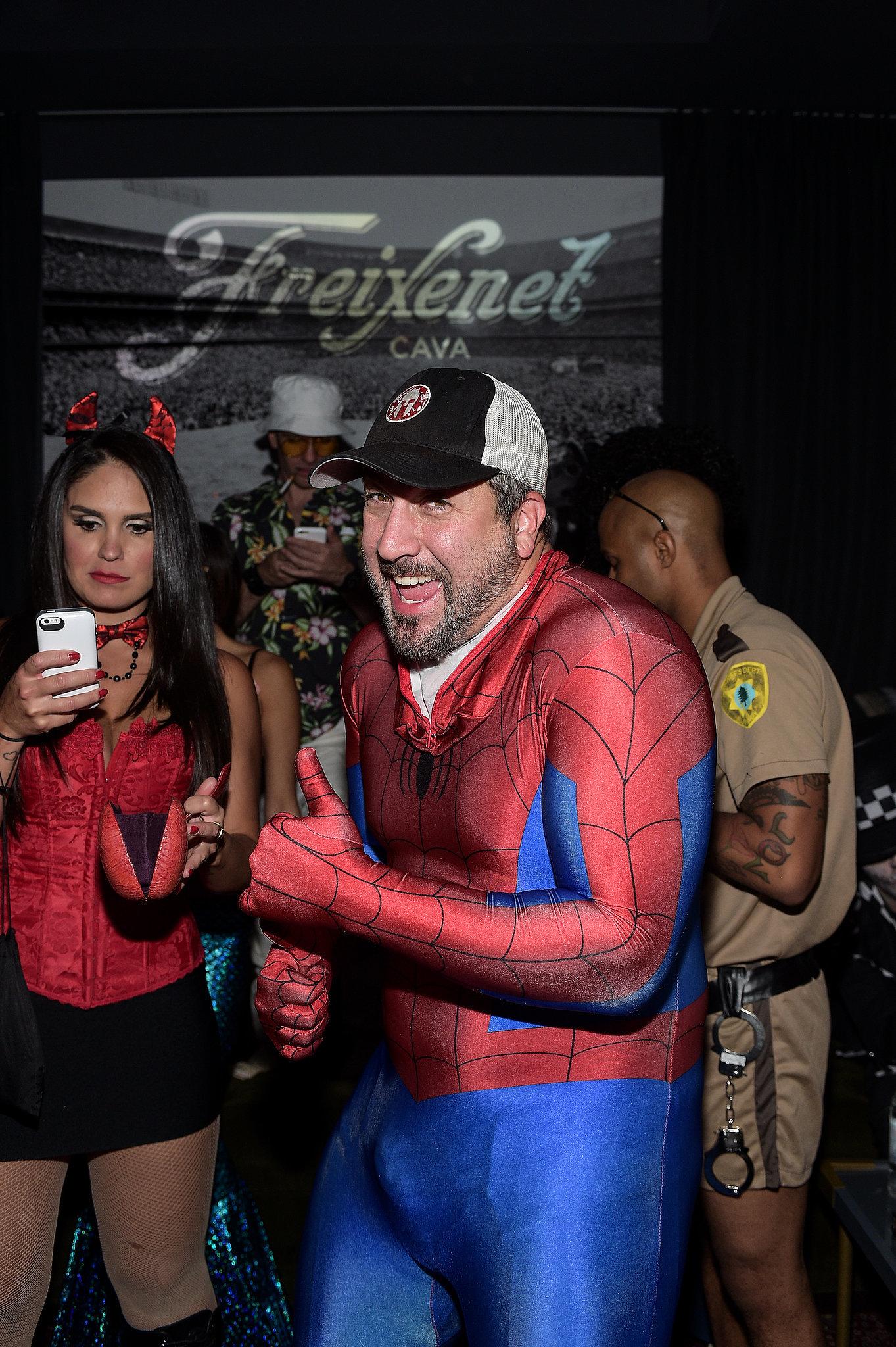 Joey-Fatone-Spider-Man