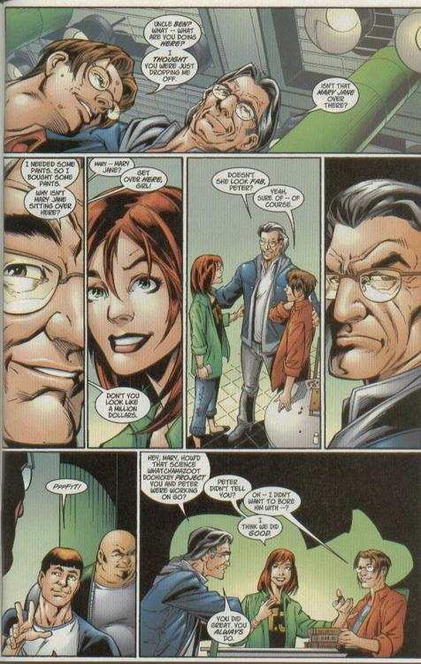 Ultimate Spider-Man MJ