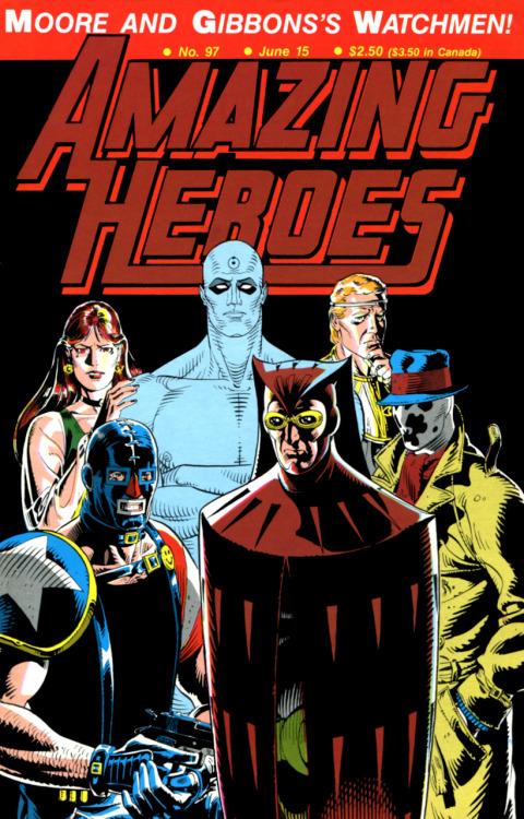 Amazing Heroes Watchmen