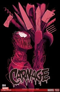 Carnage (2015) #4 Cover