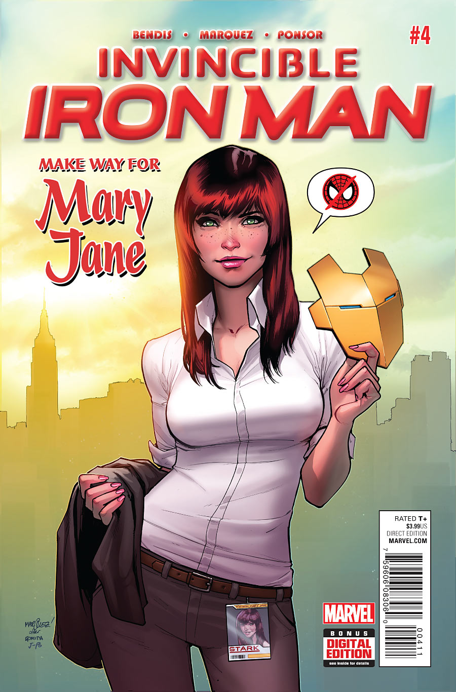 "Invincible Iron Man #4 ""Mary Jane"" Centric Review"