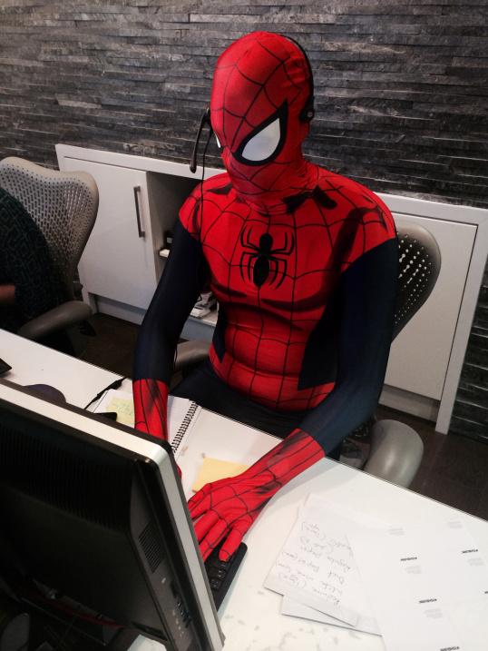 Spier-Man-at-work
