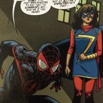 Spider-Man and Ms. Marvel friendship is right now the best in the book.