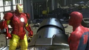 Miller Iron Man Spidey