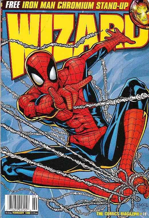 Steve Skroce Wizard 78 cover