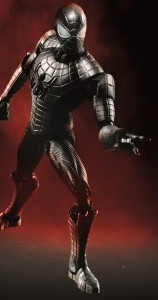 armoured spider-man