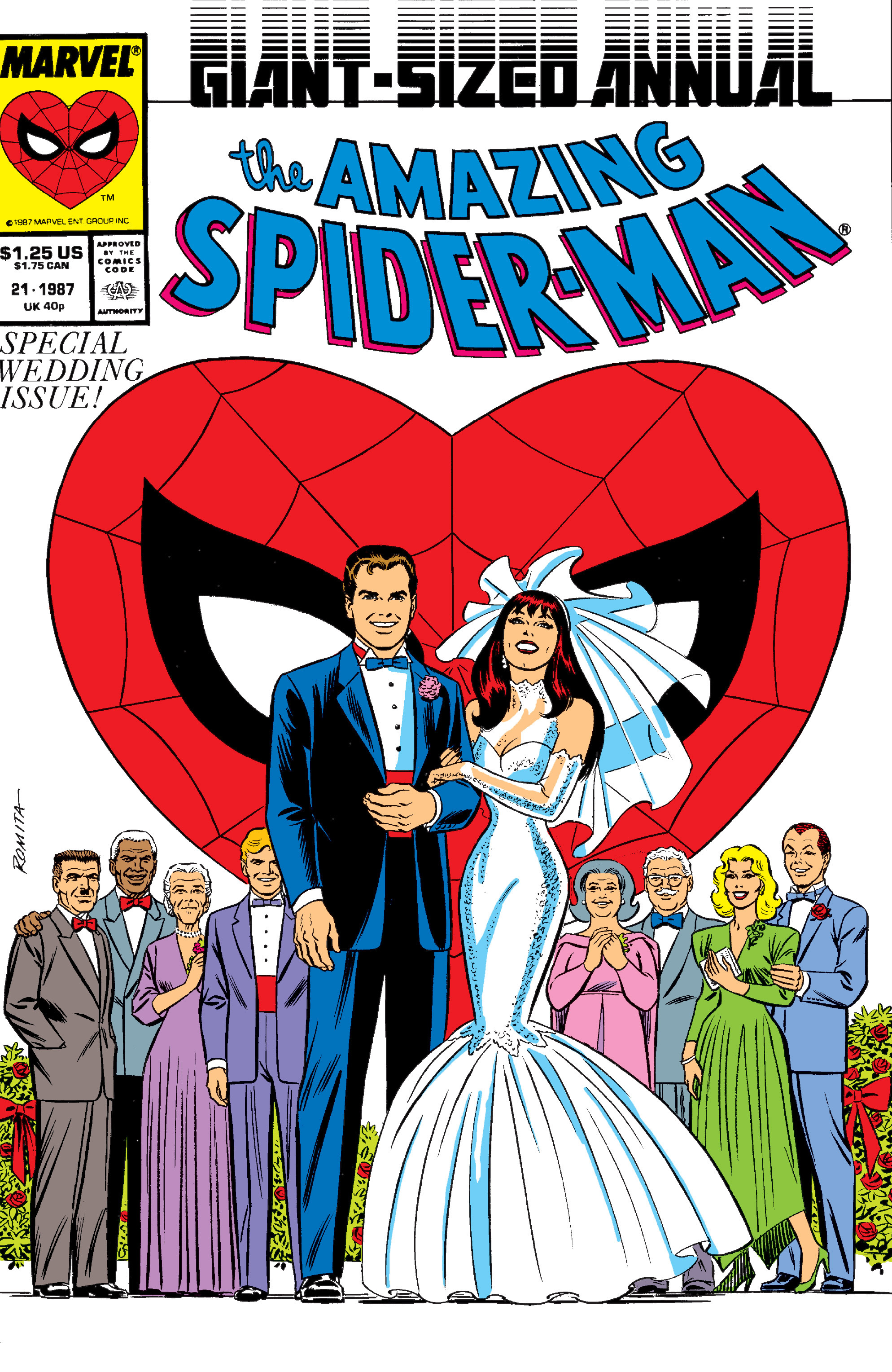 Man Proposes With Amazing Spider-Man Annual #21 on Comic Book Men