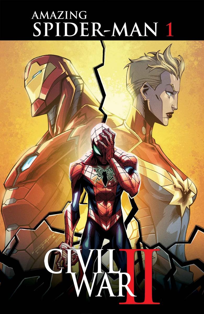 "C2E2: ""Civil War II"" Spider-Man Tie-In Revealed (UPDATE)"