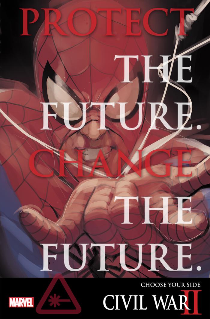 Civil War II Spider-Man Teaser Released